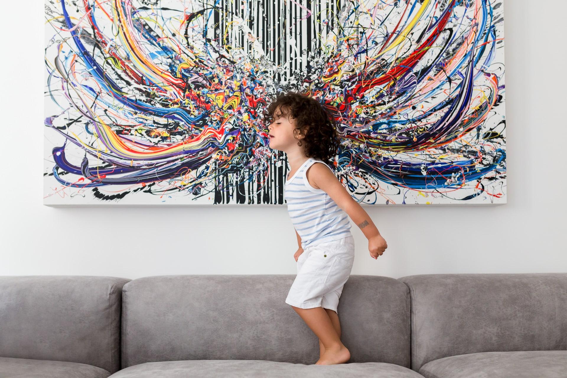 Photographe portraits d'enfants a domicile 92
