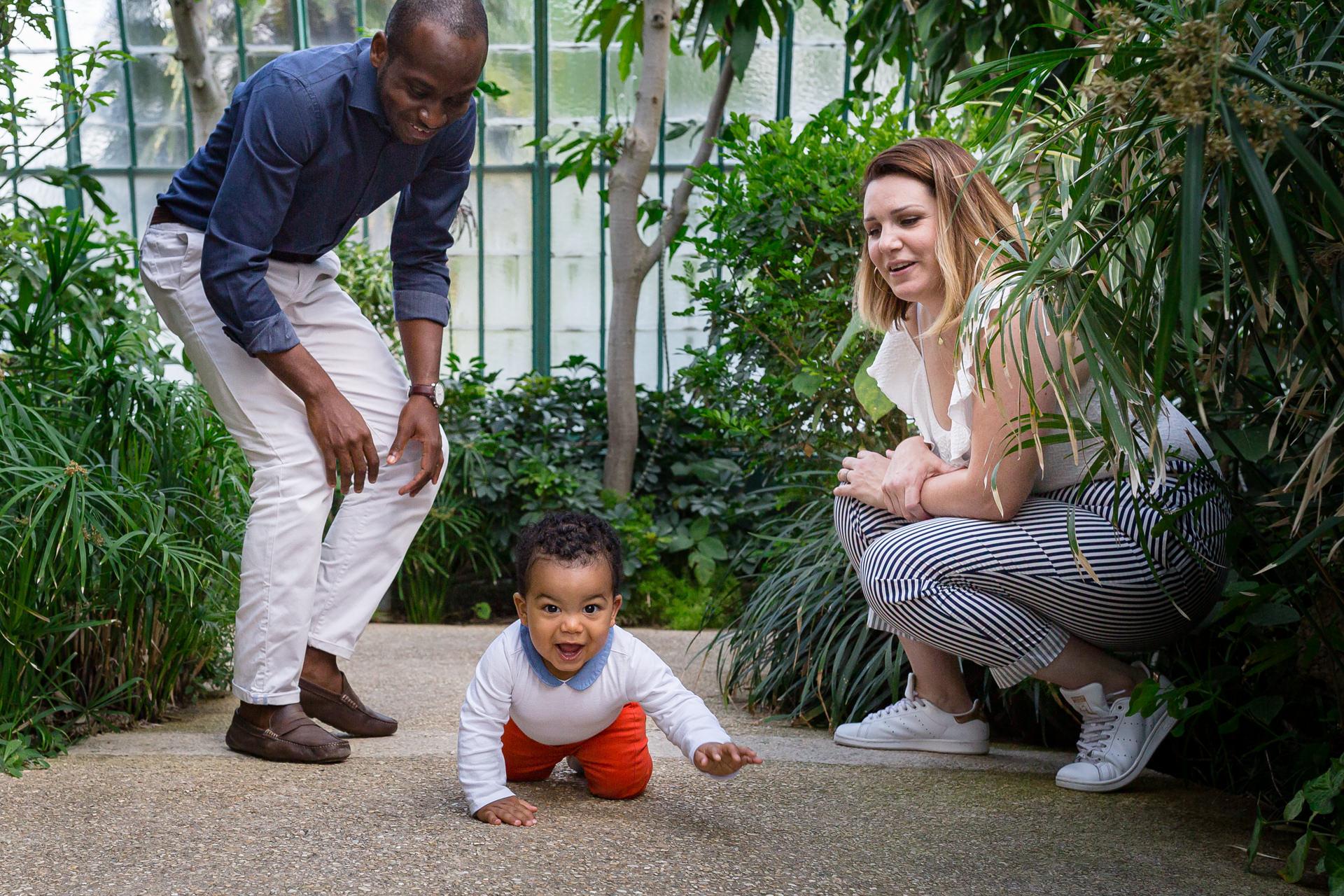 Photographe famille a domicile à Asnières sur Seine