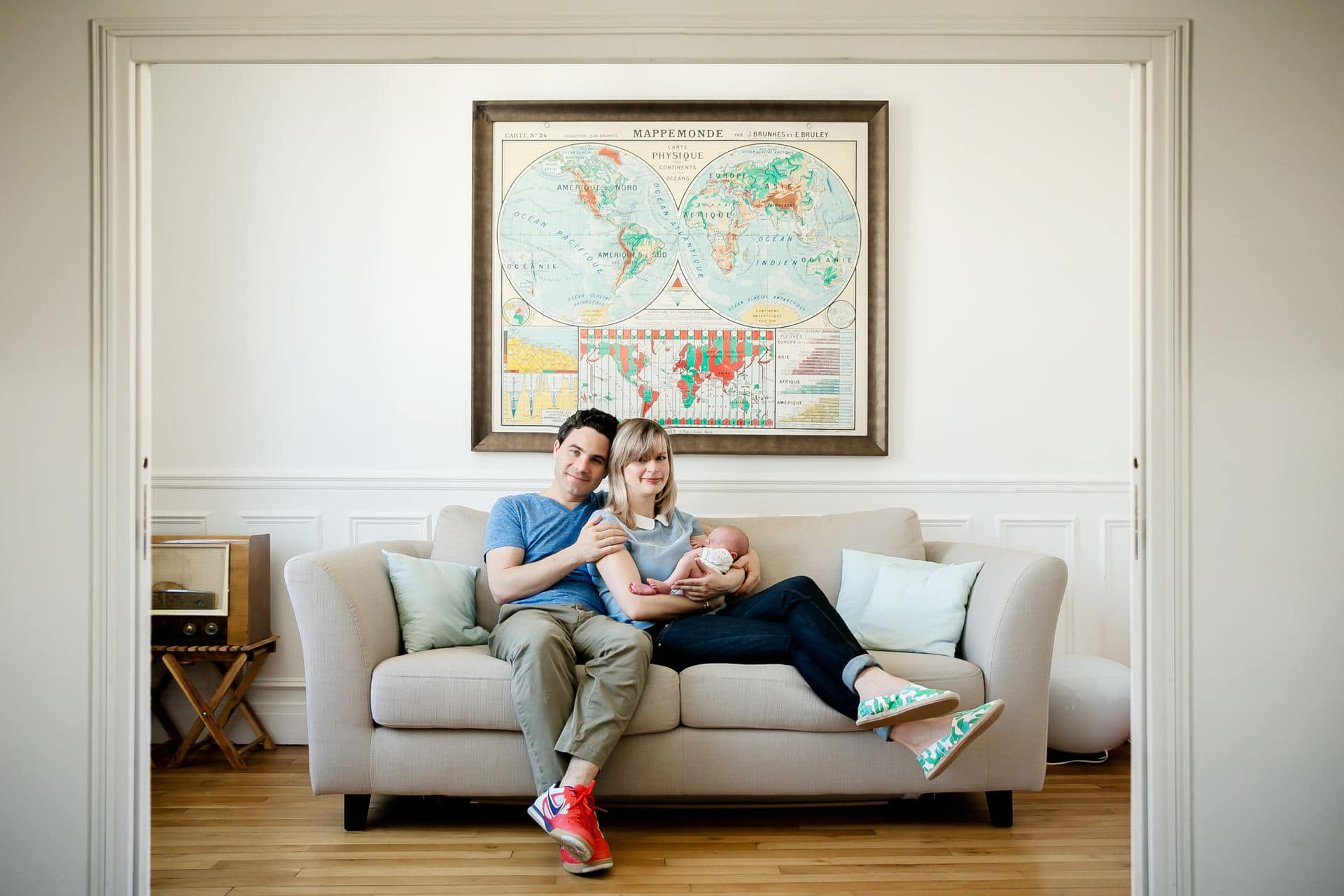Photographe famille a domicile à Courbevoie